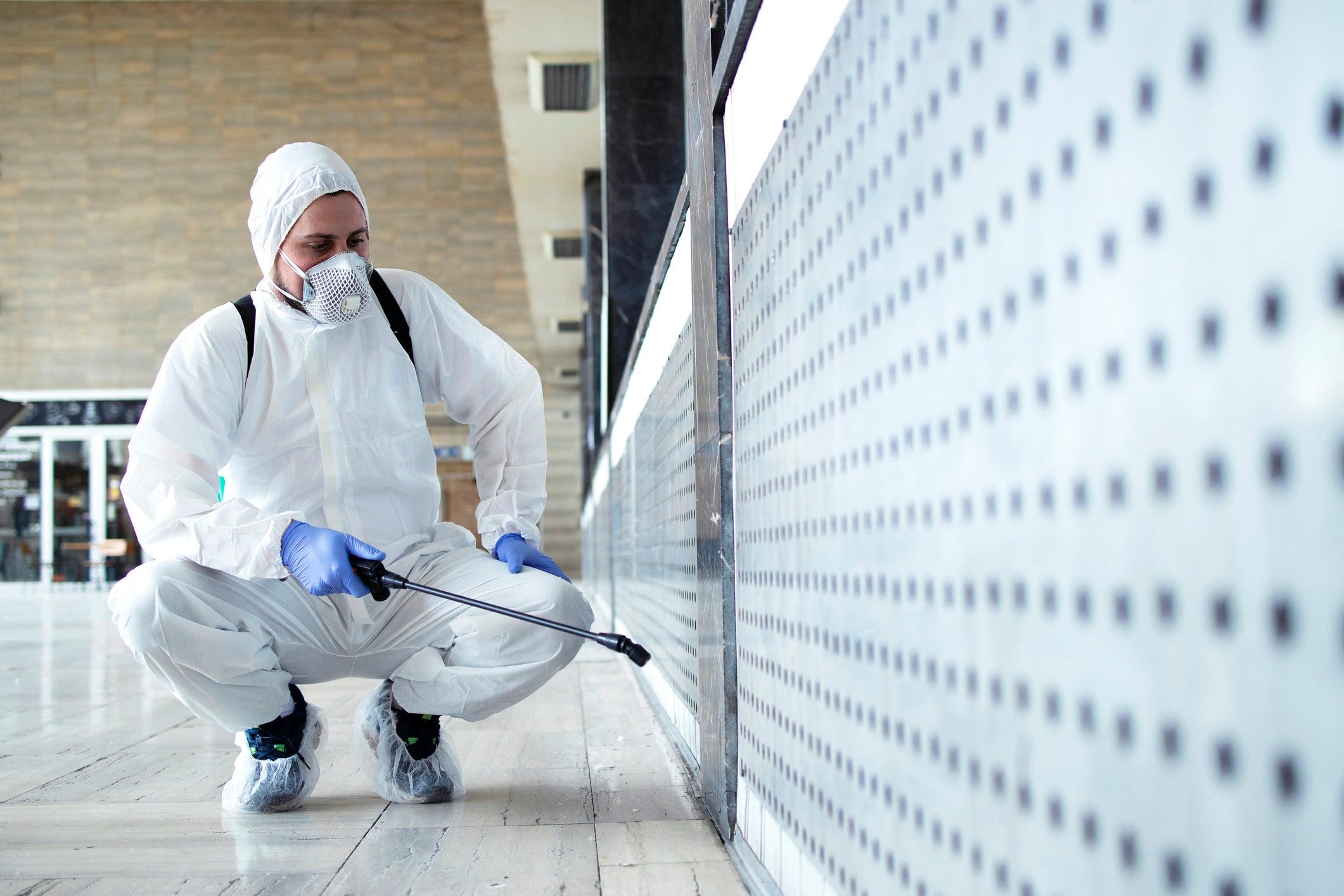 رش مبيدات ومكافحة حشرات الرياض